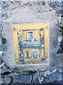 SH5873 : Hydrant marker on Garth Road, Bangor by Meirion