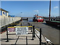 SD3448 : Ferry arriving from Knott End by Christine Johnstone