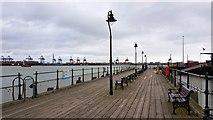 TM2532 : Harwich: The Ha'penny Pier by Nigel Cox