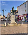 SD5192 : War Memorial, Kendal Market Square by David Dixon