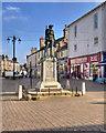 SD5192 : War Memorial, Kendal Market Square by David Dixon