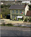 SO1403 : Welsh Flag, Sunnybank, Tirphil by Jaggery