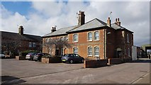 TM2632 : Harwich: Angelgate Cottages by Nigel Cox