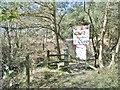 SY8491 : Chamberlayne's Heath, stile by Mike Faherty
