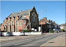 TG2408 : Jonathan Scott Hall / Thorpe Road Methodist Chapel (former) by Evelyn Simak