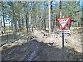 SY8391 : Chamberlayne's Heath, sign by Mike Faherty