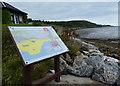 NT2486 : Information board along the Fife Coastal Path by Mat Fascione