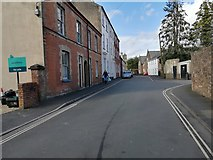 SS9512 : Tiverton : St Andrew's Street by Lewis Clarke
