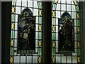 NY8464 : Haydon Bridge Methodist Church - stained glass detail by Stephen Craven