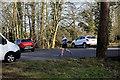 H4772 : A short run, Cranny car park by Kenneth  Allen
