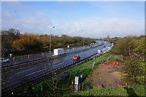 SU9778 : M4 from Datchet Road near Slough by Ian S