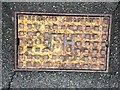 SH6267 : Needham Stockport fire hydrant access cover, Bethesda by Meirion