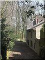 SE3422 : Houses off Finkin Lane, Stanley by Christine Johnstone