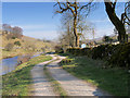 SD8879 : River Wharfe and the Dales Way in Langstrothdale by David Dixon