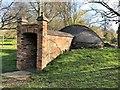 TF0506 : The ice house near Burghley House by Richard Humphrey