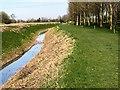 TF4317 : Nature trail near the 13th fairway - Tydd St Giles Golf Course by Richard Humphrey