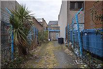 J5081 : Rear entrance, Bangor by Rossographer