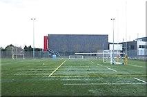 SJ7886 : St Ambrose College sports fields by Anthony O'Neil