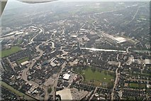 TF3243 : River Witham towards Boston Dock and John Adams Way: aerial 2020 (2) by Chris