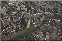 TF3244 : Boston town centre and Boston Stump: aerial 2020 (2) by Chris