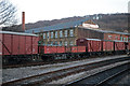 SE0641 : Rolling stock and former mill, Keighley by Chris Allen