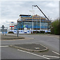 TL4857 : Cherry Hinton: extending Holiday Inn Express by John Sutton