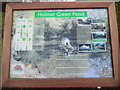 SU9097 : Information Board at Holmer Green Pond by David Hillas