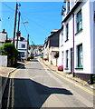 SX2553 : No parking on West Looe Hill, West Looe by Jaggery