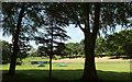 SS6828 : Cricket ground, Castle Hill Park by Derek Harper