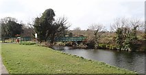 J3731 : Footbridge over the Shimna River in Islands Park, Newcastle by Eric Jones