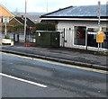 ST3090 : Yellow and dark green, Pillmawr Road, Malpas, Newport by Jaggery