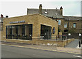 SE1422 : New 'Good Karma' coffee house, Lawson Road, Brighouse by Humphrey Bolton