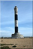 TR0916 : The new lighthouse at Dungeness by Colin Park