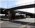 ST3089 : Puma articulated lorry, Crindau, Newport by Jaggery