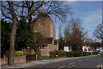 TQ3765 : Spring Park, All Saints Church by Peter Trimming