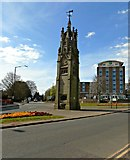 SP2871 : The Clock Tower, The Square, Kenilworth by AJD