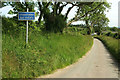 SS6533 : Lane to Whitsford by Derek Harper