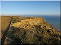 TG2739 : Erosion across England Coast Path by Hugh Venables