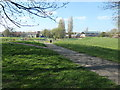 SE3421 : Sunny afternoon, empty recreation ground, Eastmoor by Christine Johnstone