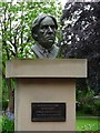 SP0199 : Bust of Jerome K Jerome by Philip Halling