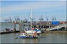 TM2532 : Harwich Town Pier by N Chadwick