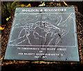 SX9372 : Shaldon & Ringmore Silver Jubilee plaque detail, Shaldon by Jaggery