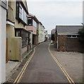 SX9372 : WNW along Riverside, Shaldon by Jaggery