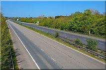 ST0207 : Tiverton : M5 Motorway by Lewis Clarke