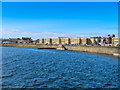 NS2441 : The sea wall in the harbour at Saltcoats by Steve Daniels