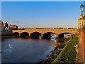NS3322 : New Bridge over the River Ayr by Steve Daniels