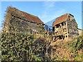 TQ5740 : Derelict Farm Buildings by John P Reeves