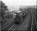 SJ4066 : Railway approach to Chester from the west, 1960 by Alan Murray-Rust