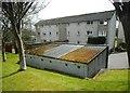 NS5573 : Lockup garages by Richard Sutcliffe