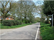 SO9875 : Footpath sign off Beacon Lane Lickey by Roy Hughes